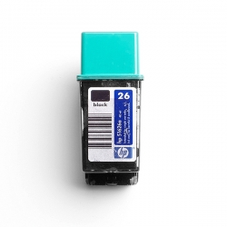 51626A/G Black No.26A